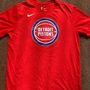 Nike dri fit large piston t shirt